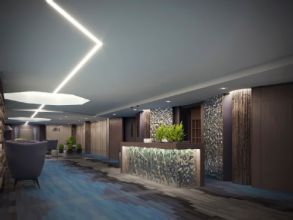 Hotel Motive, Lobby, Rezeption